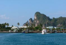 Isola di Phi di Phi, Tailandia Fotografia Stock Libera da Diritti