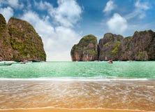 Isola di Phi-Phi Fotografia Stock Libera da Diritti
