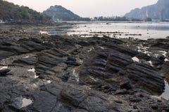 isola di Phi Phi Fotografie Stock Libere da Diritti