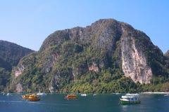 Isola di Phi Phi, Koh Phi Phi Fotografia Stock