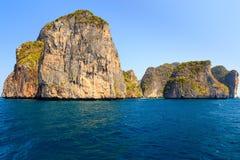 Isola di Phi Phi Ley Fotografie Stock