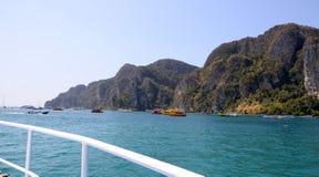 Isola di Phi di Phi in Tailandia Fotografia Stock