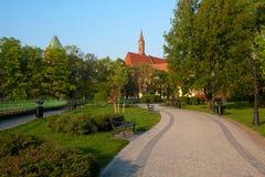 Isola di Piasek, Wroclaw, Polonia Immagine Stock