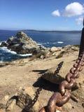 Isola di pietra Fotografia Stock Libera da Diritti