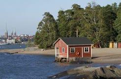 Isola di Pihlajasaari, Helsinki Fotografia Stock Libera da Diritti
