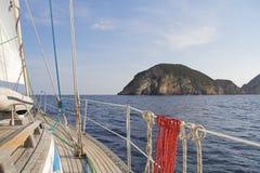 Isola Di Ponza Stock Afbeelding