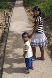 ISOLA di POPOTOTAN, BUSUANGA, FILIPPINE - GENNAIO 20,2012 - ragazzo Immagine Stock Libera da Diritti
