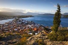 Isola di Poros Fotografie Stock Libere da Diritti