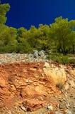 Isola di Poros Immagini Stock