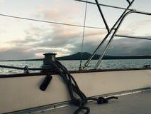 Isola di Rangitoto Fotografia Stock Libera da Diritti