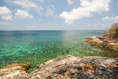 Isola di Rok Roy, Koh Rok Roy, Satun, Tailandia immagini stock
