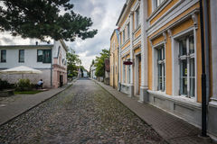 Isola di Saaremaa, Estonia fotografie stock