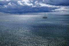 Isola di Saaremaa, Estonia, Europa, un paesaggio Fotografia Stock Libera da Diritti