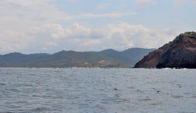 Isola di Salango Fotografia Stock