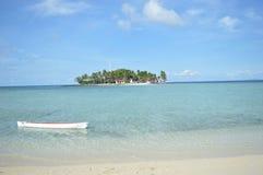 Isola di Samber Gelap, Kotabaru, Borneo del sud, Indonesia fotografia stock libera da diritti