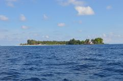 Isola di Samber Gelap, Kotabaru, Borneo del sud, Indonesia Fotografie Stock