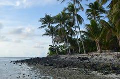 Isola di Samber Gelap, Kotabaru, Borneo del sud, Indonesia Fotografia Stock