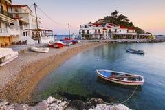 Isola di Samos fotografia stock libera da diritti