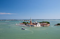 Isola di San Giorgio Maggiore Stock Images