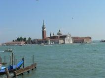 Isola di San Giorgio Maggiore (Venezia) Arkivbilder