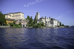 Isola di San Giulio - Orta San Giulio Royalty Free Stock Photos