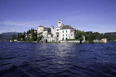 Isola di San Giulio - Orta San Giulio Stock Images
