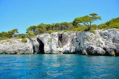 Isola Di San Nicola wyspa Zdjęcia Royalty Free