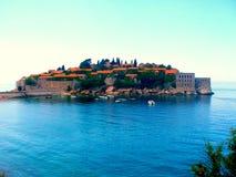 Isola di San Stefano Immagini Stock