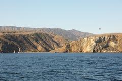 Isola di Santa Cruz fotografia stock libera da diritti