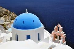 Isola di Santorini fotografia stock