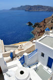 Isola di Santorini immagini stock