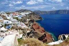 Isola di Santorini fotografia stock libera da diritti