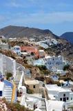 Isola di Santorini immagini stock libere da diritti