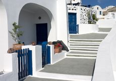 Isola di Santorini Fotografie Stock