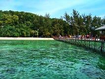 Isola di Sapi, Sabah Malaysia immagini stock libere da diritti