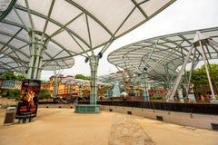 Isola di Sentosa a Singapore immagini stock