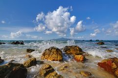 Isola di Sibu Fotografia Stock Libera da Diritti