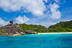 Isola di Similan Fotografia Stock