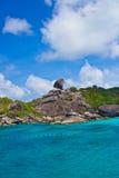 Isola di Similan Immagini Stock Libere da Diritti