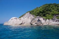 Isola di Similan, Tailandia Fotografia Stock Libera da Diritti