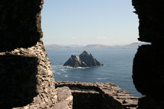 Isola di Skellig in Kerry Irlanda immagini stock libere da diritti