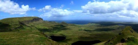 Isola di Skye, Scozia di Quirang Fotografia Stock Libera da Diritti