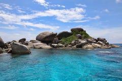Isola di Slmilan immagine stock libera da diritti