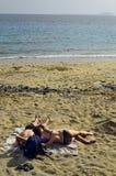 Isola di Spain_Canary Fotografia Stock