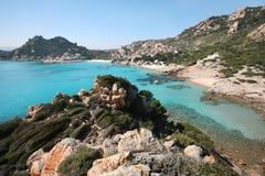 Isola di Spargi (île de Spargi) photographie stock libre de droits