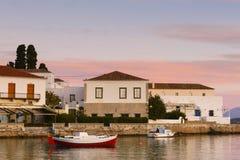 Isola di Spetses fotografia stock libera da diritti