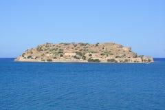 Isola di Spinalonga Fotografia Stock