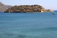 Isola di Spinalonga, Crete Fotografie Stock