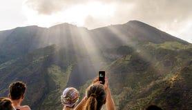 Isola di Stromboli immagini stock libere da diritti