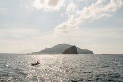 Isola di Stromboli fotografia stock